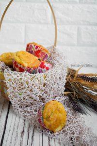 muffin salati con zucchine, antipasto vegetariano