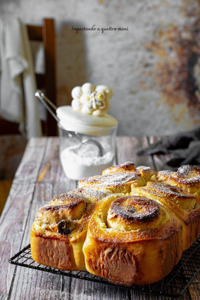 torta di rose con ricotta e amarene
