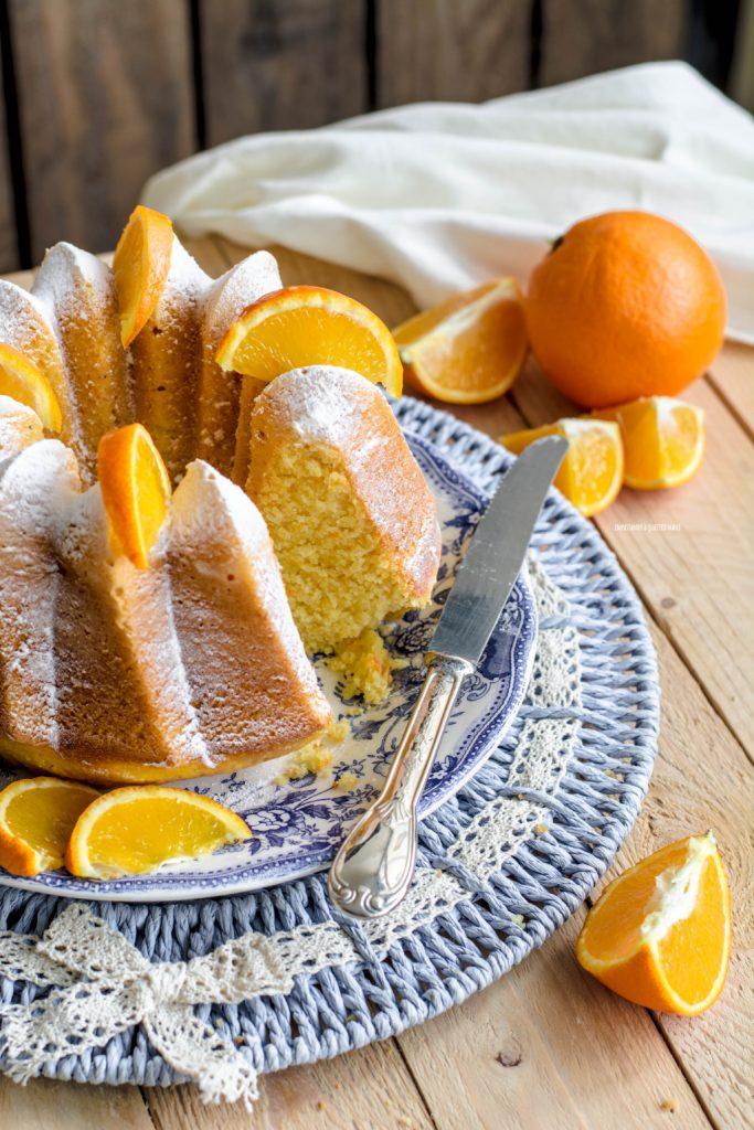 pan d'arancio, ricetta siciliana con arance intere