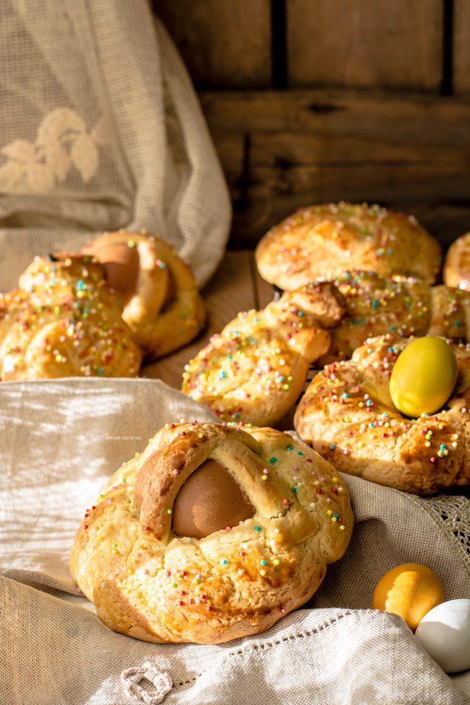 cudduraci calabresi, biscotti di Pasqua