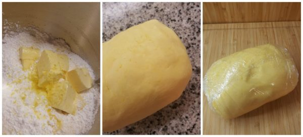 preparazione biscotti canestrelli