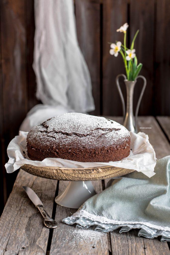 torta 7 vasetti al cacao senza bilancia