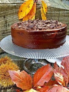 devil's food cake, torta al cioccolato americana di Nigella Lawson
