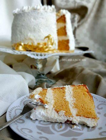 fluffosa raffaello chiffon cake al cocco