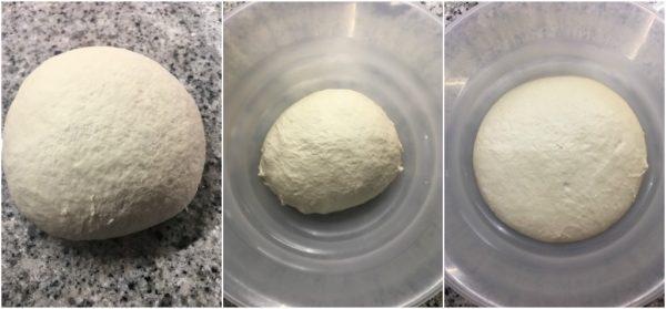 preparazione pan bauletto con lievito madre