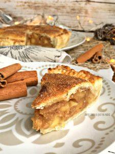 torta apple pie, torta di mele americana di nonna papera