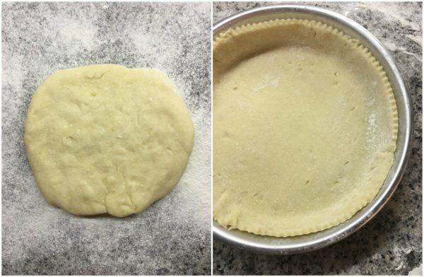 preparazione delle apple pie, torta di mele americana (torta di nonna papera)