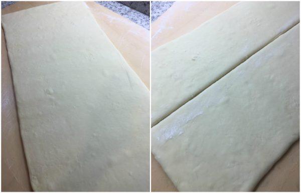preparazione croissant francesi