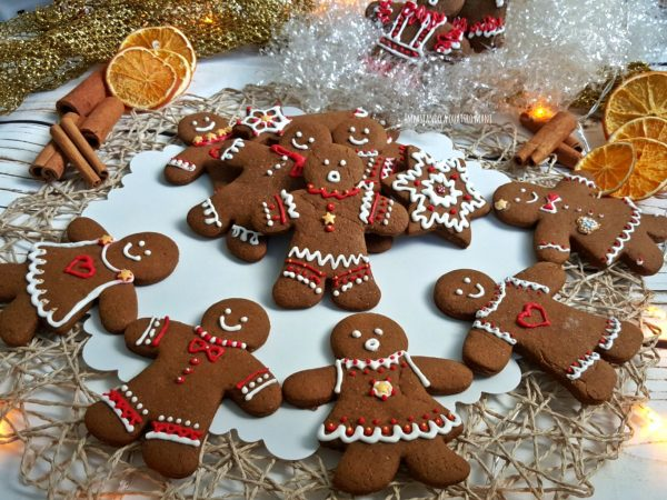 biscotti pan di zenzero, omini, gingerbread
