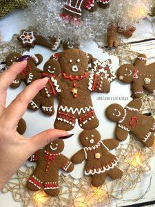 biscotti pan di zenzero, gingerbread man