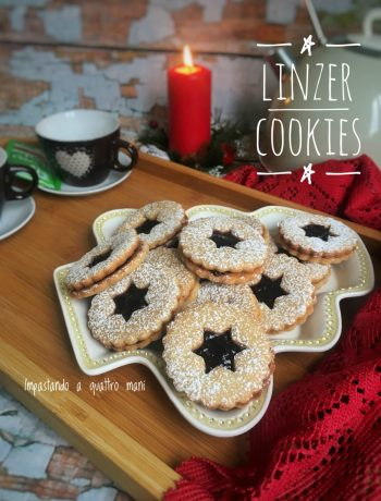 linzer cookies, biscotti austriaci
