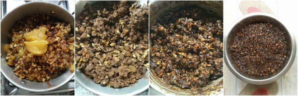 preparazione petrali calabresi frutta secca