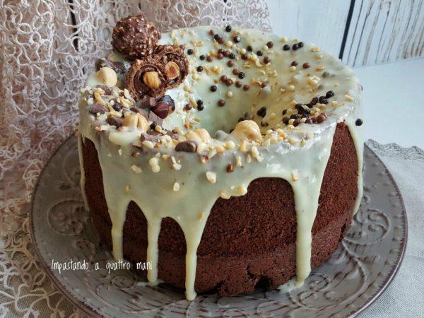 fluffosa al cacao, chiffon cake