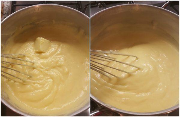 crema pasticcera all'arancia per torte e crostate