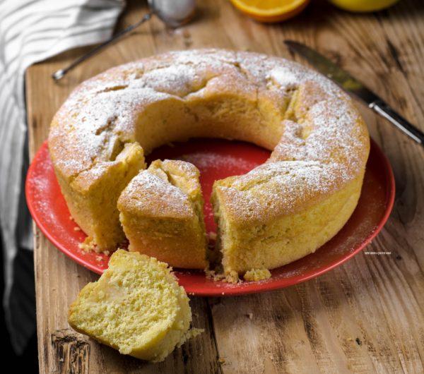 torta di mele al profumo di arancia