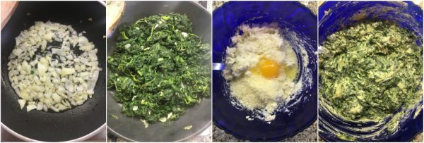 preparazione torta pasqualina, ricetta di pasqua