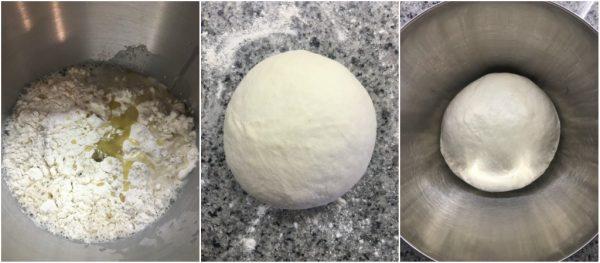preparazione torta pasqualina