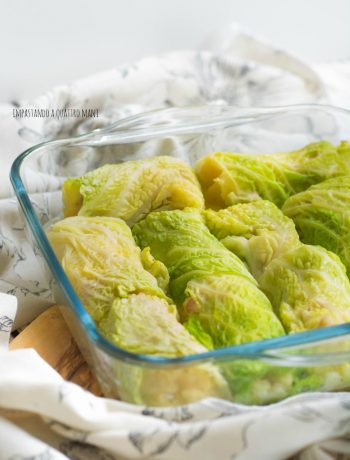ivoltini di verza con patate