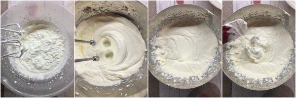 preparazione Camy cream, la crema al mascarpone senza uova