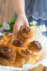 torta delle rose con metodo sfogliatura veloce