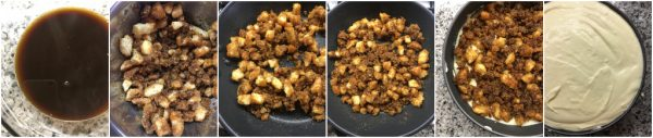 preparazione tiramisù cheesecake con uova pastorizzate
