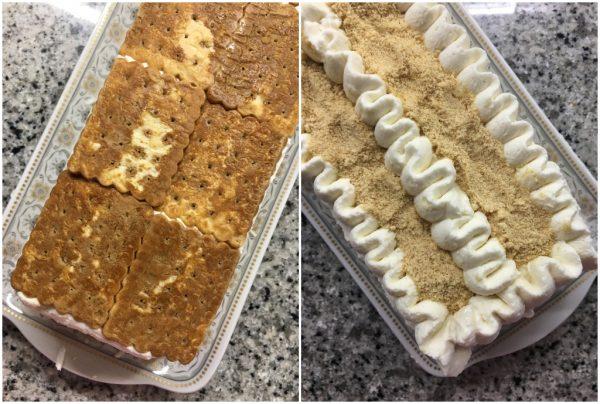 preparazione tronchetto gelato veloce senza gelatiera