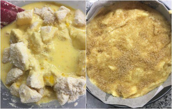 preparazione torta di mele irlandese