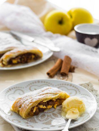 strudel di mele ricetta veloce
