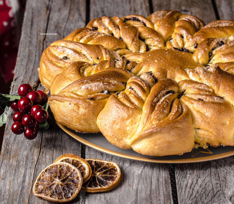 Torta Salata Stella Di Natale.Stella Di Natale Di Pan Brioche