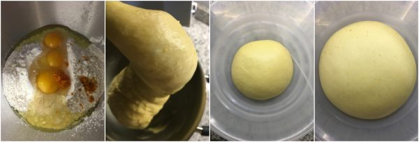 preparazione roscon de reyes