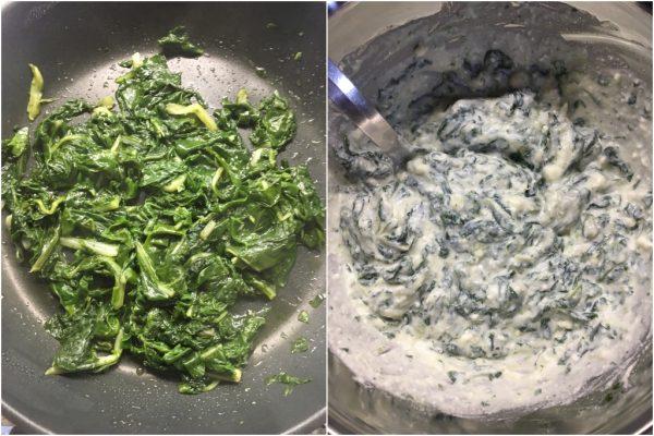 preparazione crostata salata bietole e ricotta
