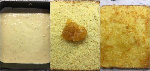 preparazione tortine alla marmellata di arance amare, merendime homemade