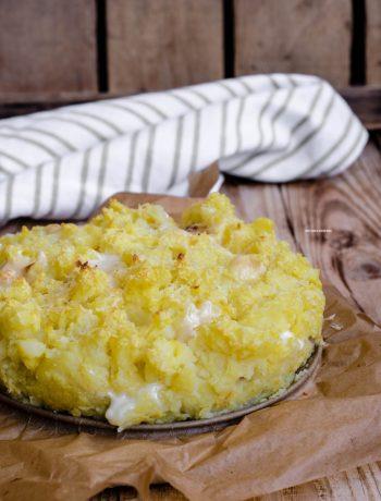 sbriciolata di patate cotto e besciamella