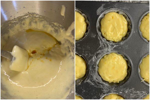preparazione madeleine