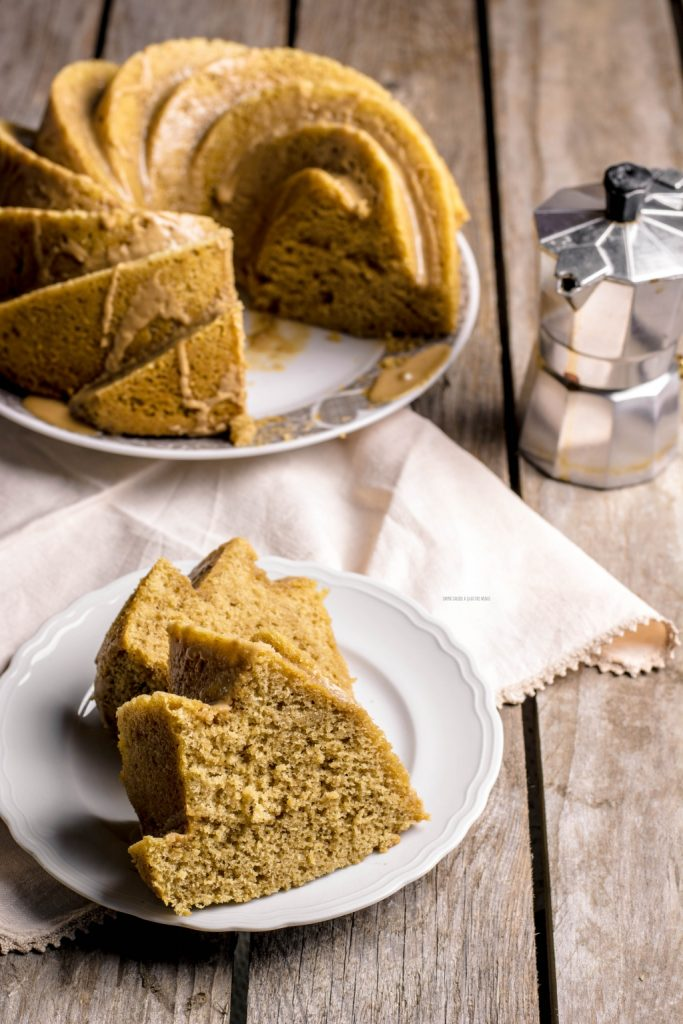 torta dei 2 minuti al caffè senza burro e senza olio