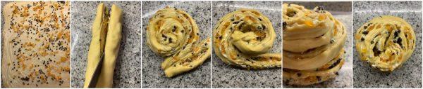 preparazione kulich cruffin ricetta russa di pasqua
