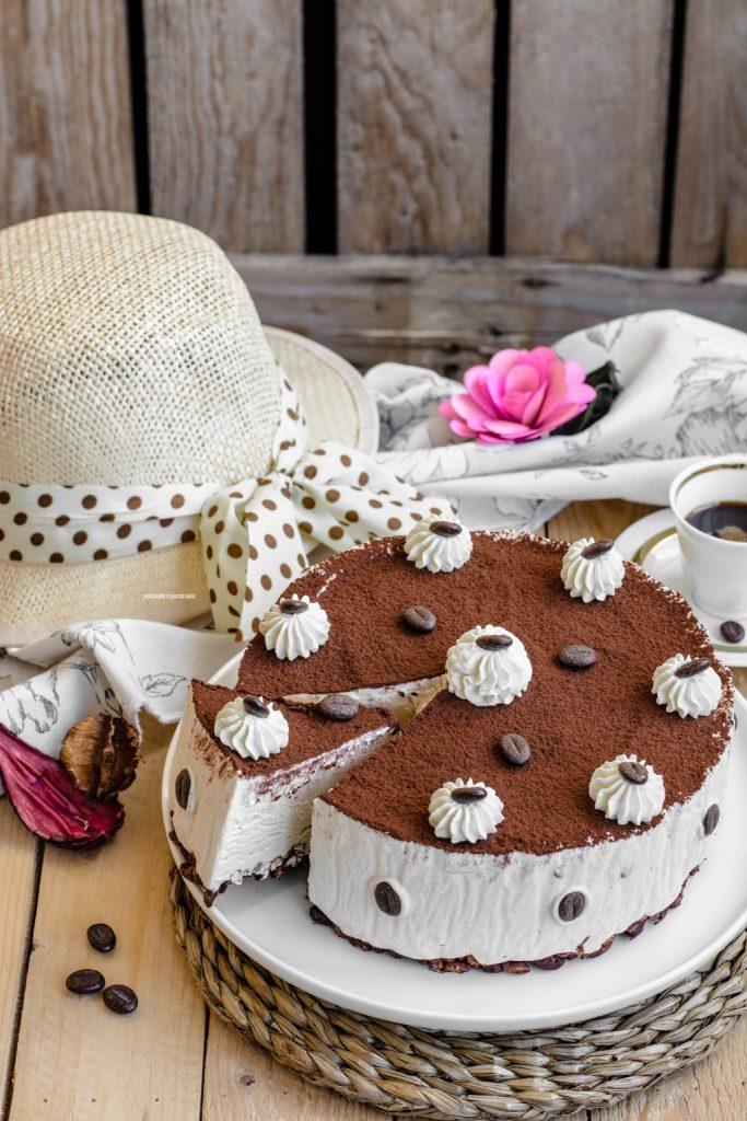 torta gelato al caffè veloce senza gelatiera