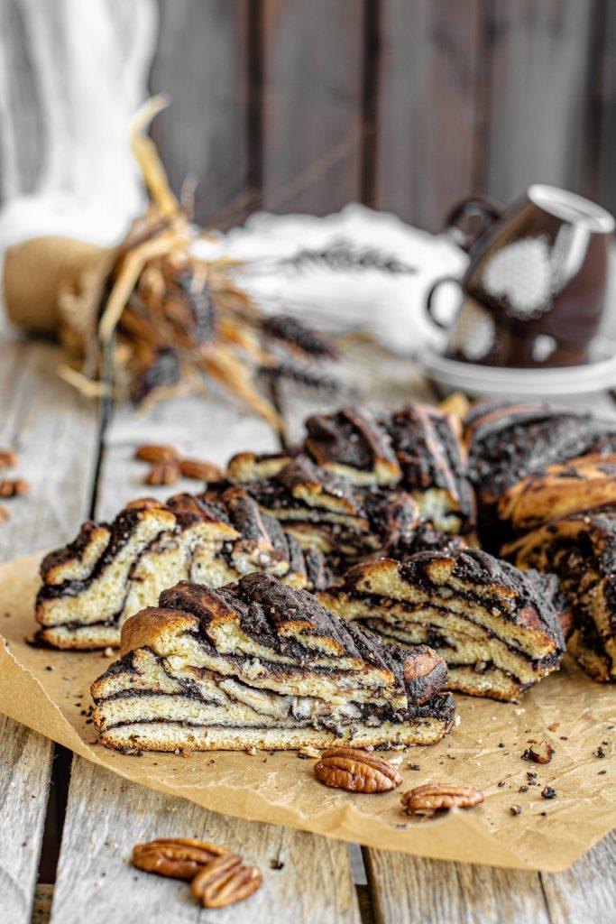 babka di Ottolenghi o chocolate kranzt cake