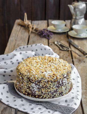 torta gelato croccante, senza gelatiera