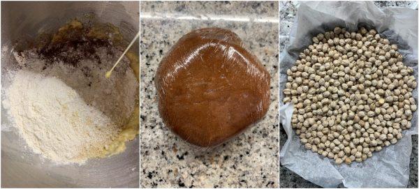 preparazione crostata cappuccino