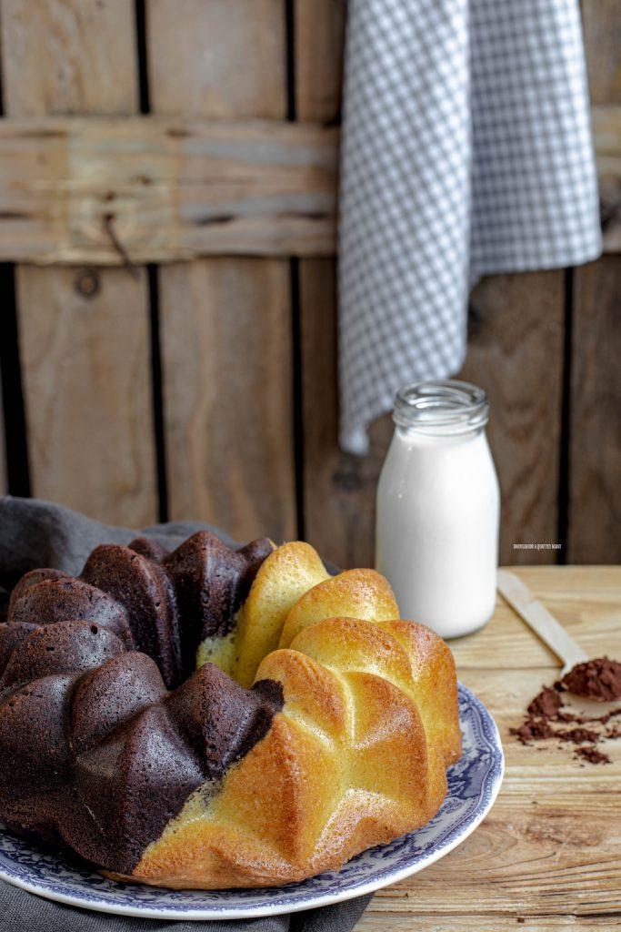 ciambella abbraccio bigusto alla panna e cacao