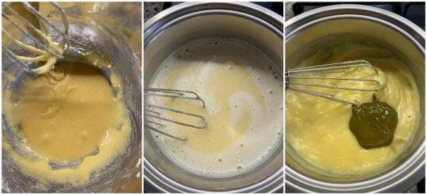 preparazione sbriciolata panettone