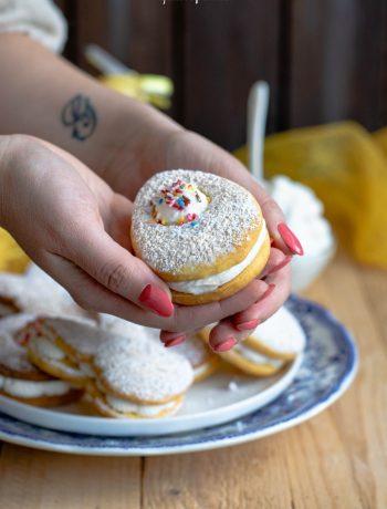biscotti paradiso, idea di pasqua