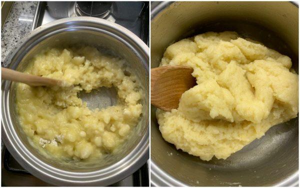 preparazione ricetta pasta choux