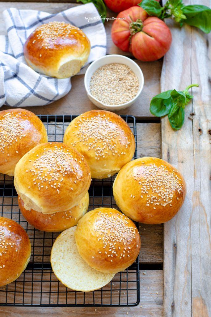 burger buns, i panini soffici da hamburger