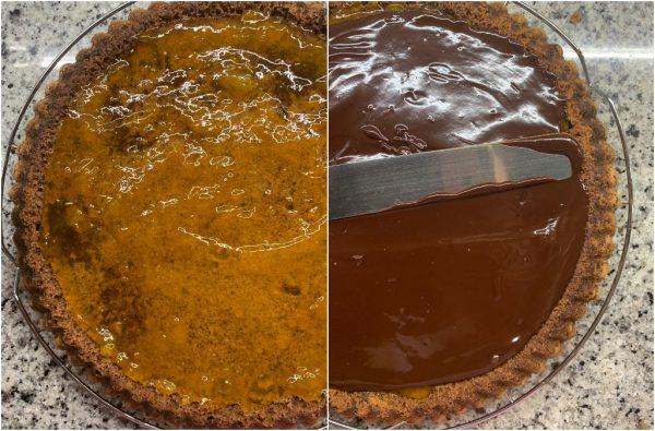 preparazione crostata morbida sacher