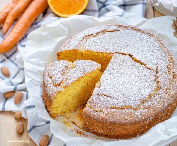torta alla panna e carote