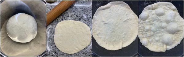 preparazione pita greca