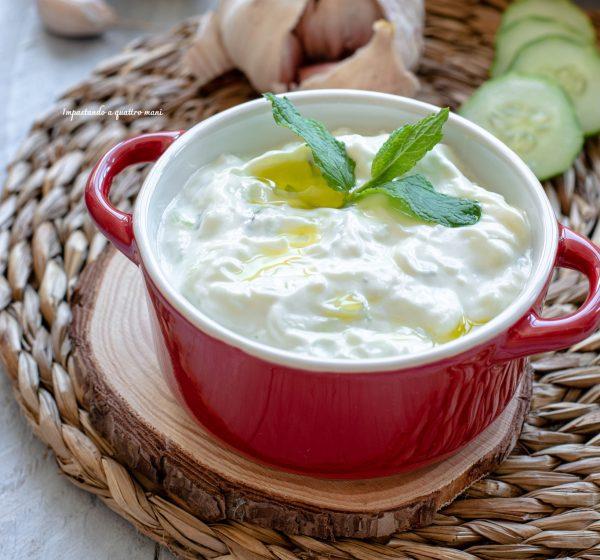 salsa greca tzatziki