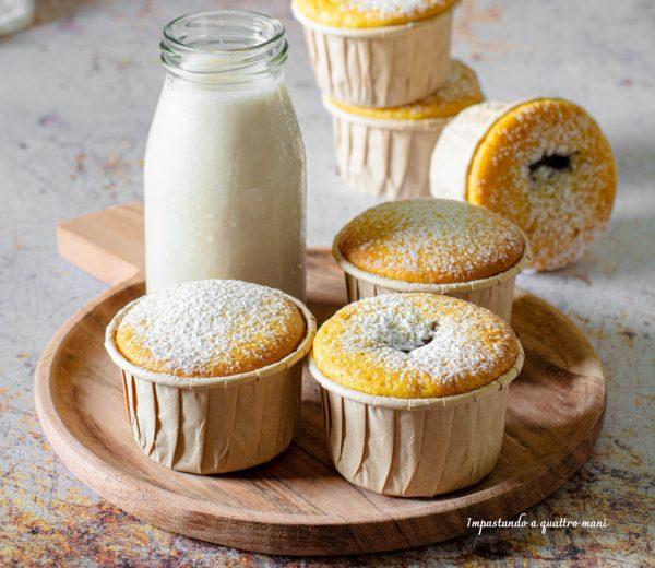 muffin soffici ripieni
